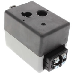 24V Normally Closed Actuator w/ auxiliary switch terminal block
