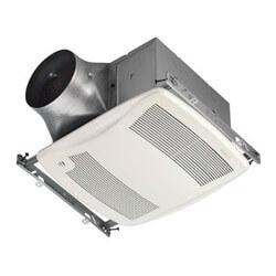 Model ZB110H Ultra Green 2 Speed Humidity Sensing Fan (110 CFM, <0.3 Sones) Product Image