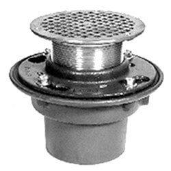 "2"" Neo-Loc Adjustable Floor Drain<br>(Polished Bronze Top) Product Image"