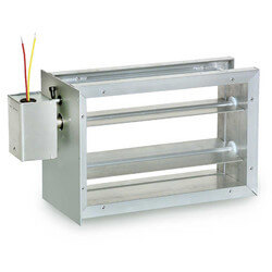 8 in. x 12 in. Rectangular Parallel Blade Damper