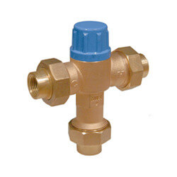 Thermostatic Mixing Valve 95 to 131°F (Less Unions)