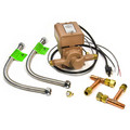 008-DM-PK Male NPT, 008 Pump w/ plumbing kit, 1/25 HP