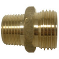 "LFA-663 PBGH3, 3/4"" x 1/2"" Garden Hose Adapter (Brass Male Hose to Male Pipe Adaptor)"