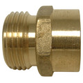 "LFA-669 PBGH4, 3/4"" x 3/4"" Garden Hose Adapter (Brass Male Hose to Female Pipe Thread Adaptor)"