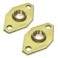 "3/4"" Bell & Gossett Bronze Body Pump Flange, Lead Free - (pair)"