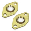 "1"" Bell & Gossett Bronze Body Pump Flange, Lead Free - (pair)"