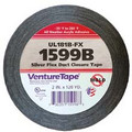 "UL181B-FX Printed Flexible Duct Closure Tape - Black (3"" x 360')"
