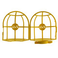 Plastic Yellow Bird Cage for Outdoor String Lights