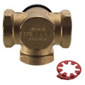 "1"" 3-Way Mixing Valve, -15 to 230°F (Threaded)"