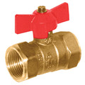 "3/4"" IPS Gas Ball Valve w/ T-Handle"