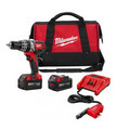 "M18 Cordless 1/2"" Hammer-Drill Driver Kit with AC/DC Charger"