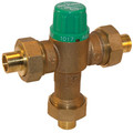 "3/8"" Lead Free Thermostatic Mixing Valve 95 to 131°F (Compression)"