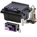 Stormcell Dual Battery Back Up Pump High Output System (25A)