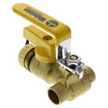 "1/2"" Sweat PRO-PAL Ball Valve w/ Drain (Lead Free)"