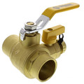 "1-1/4"" Sweat PRO-PAL Ball Valve w/ Drain"