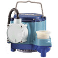 6-CIM 1/3 HP, 45 GPM (175LPM), 230V - 6-CIM Manual Submersible Sump Pump, 12ft (3.6m) power cord