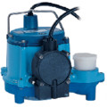 6-CIA-RS 1/3 HP, 45 GPM - Automatic Submersible Sump Pump w/ remote switch, 10ft power cord