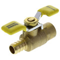 "1/2"" SWT x PEX Ball Valve with Wing Handle"