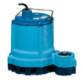 9E-CIM 4/10 HP, 57 GPM, 230V - Manual Submersible Sump Effluent Pump, 15ft power cord