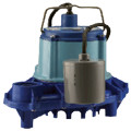 9EH-CIA-RFS 4/10 HP, 70 GPM, 230V - Automatic Submersible Sump Effluent Pump w/ Remote Float Switch, 20ft power cord
