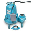 ES60W1-10 6/10 HP, 127 GPM @ 10ft - Energy Savings, Submersible, Solids Handling Pump w/ Wide Angle Float Switch, 10ft power cord