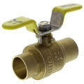 "3/4"" Sweat Full Port Ball Valve w/ T-Handle"