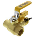 "3/4"" Sweat x IPS Pro-Pal Ball Valve w/ Hose Drain"