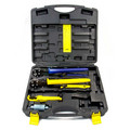 "Starter PEX Press Tool Set with (1/2"" & 3/4"" Press Tools w/ 1/2"" & 3/4"" Prep Tools)"