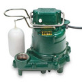 Model D57 Mighty-Mate Automatic Cast Iron Effluent Pump - 230 V, 0.3 HP