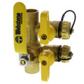 "1-1/4"" Sweat Purge & Fill Ball Valve"