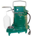 Model E59 Mighty-Mate Non-Automatic Bronze Effluent Pump - 230 V, 0.3 HP