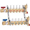 """1-1/4"""" TwistFlow Manifold w/ Temp Gauge (4 Outlets)"""