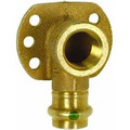 "1/2"" x 1/2"" Bronze 90° Drop Ear Elbow (PxF), Zero Lead"