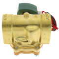 "1-1/2"" NPT Normally Closed 2-Way Hot Water/Steam Solenoid Valve (120/60AC)"