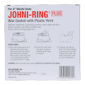 "Johni-Ring Wax Toilet Gasket - Standard Size (for 4"" Waste Lines)"