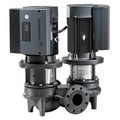 TP32-80/2 Direct Coupled In-Line Circulator, 1/2 HP, BUBE Seal, Cast Iron, 115/208-230V, GF 15/26 Flange Mount