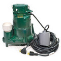 Model BN98 Flow-Mate Cast Iron Effluent Sump Pump w/ Variable Level Float Switch- 115 V