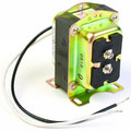 Foot Mounted, Plate Mounted, Clamp Mounted or Panel Mounted 120 VAC / 27 V.O.C. Transformer w/ 9 in. Lead Wires (40 VA)