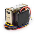 Foot mounted 120/208/240 Vac Transformer with 9 in. lead wires and plastic end caps