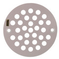 "4-1/4"" Polar White Stamped Strainer"