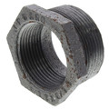 "1-1/2"" x 1-1/4"" Black Hexagon Bushing"