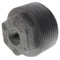 "1-1/4"" x 1/8"" Black Hexagon Bushing"