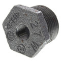 "3/4"" x 1/8"" Black Hexagon Bushing"