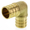 "3/4"" PEX x 3/4"" PEX Brass Elbow (Lead Free)"