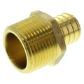 "1"" PEX x 1"" NPT Brass Male Adapter (Lead Free)"