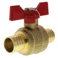 "1"" PEX x 1"" PEX Ball Valve, T-Handle (Lead Free)"