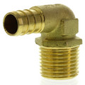 "1/2"" PEX x 1/2"" Male Threaded Brass Elbow (Lead Free)"
