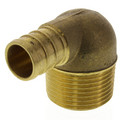 "5/8"" PEX x 3/4"" Male Threaded Brass Elbow (Lead Free)"