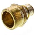 "2"" PEX x 2"" NPT Lead Free Brass Male Adapter"
