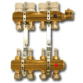 "4 Loop Radiant Heat Manifold Package (3/8"" PEX)"